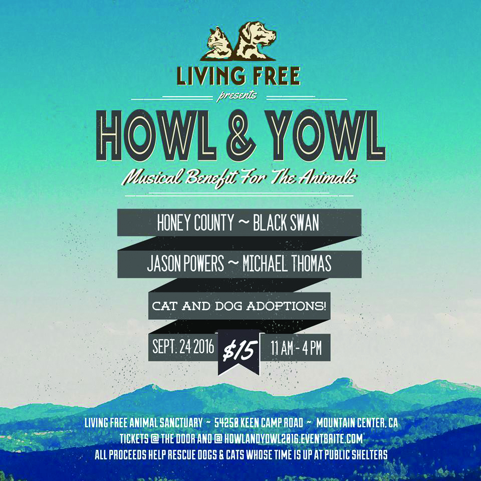 Howl & Yowl Musical Benefit